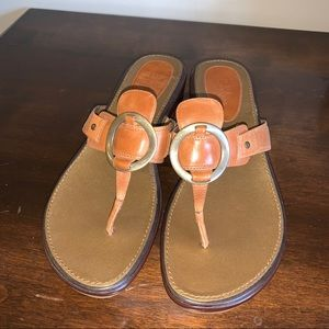 COLE HAAN Air Tatum Brown Sandal 11